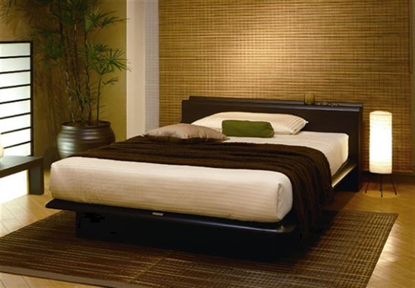 和モダン ベッド
