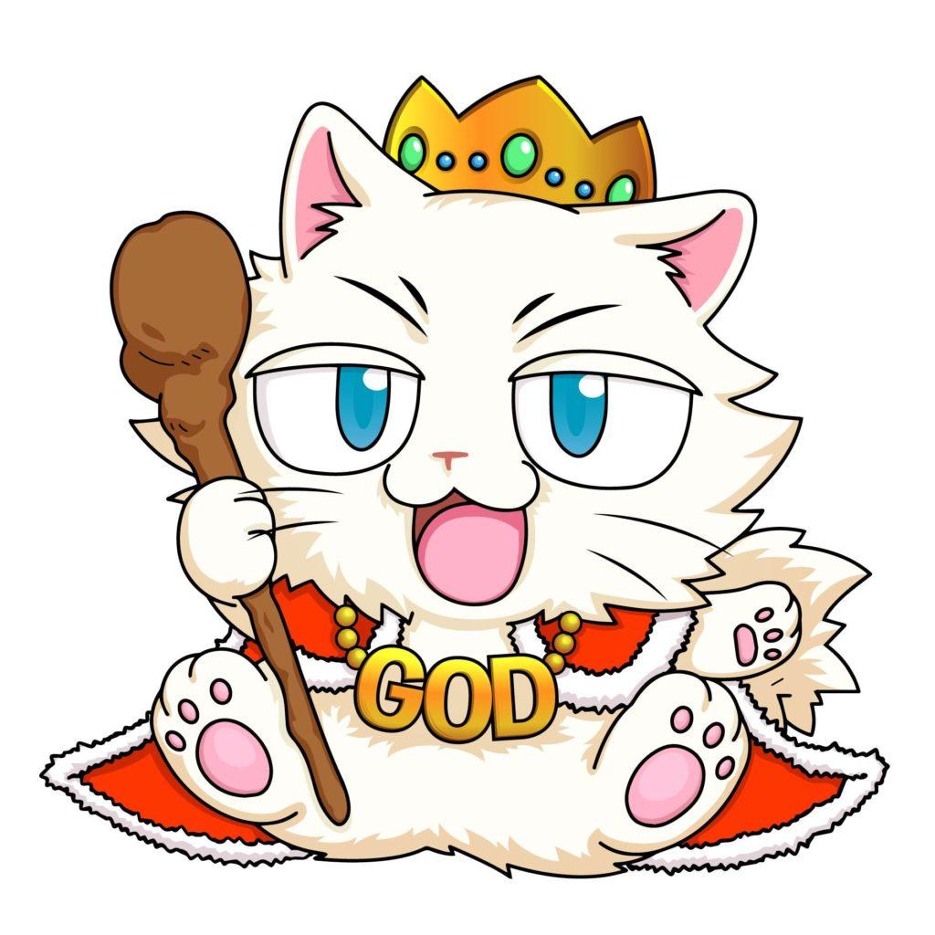 ネコ神さま