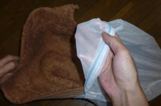 バスマット洗濯3