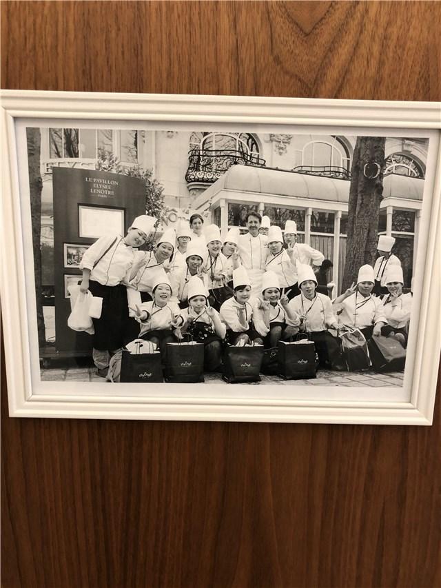 山手調理製菓専門学校の廊下2