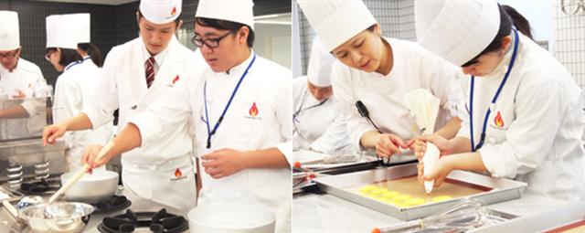 山手調理製菓専門学校のオープンキャンパス1