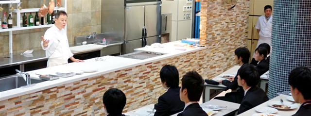 山手調理製菓専門学校の企業説明会